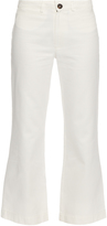MiH Jeans Osmond high-rise cropped flared jeans