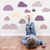 SnuggleDust Studios Clouds Fabric Wall Stickers