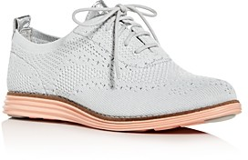 Cole Haan Women's Original Grand Stitchlite Knit Wingtip Oxfords Ii
