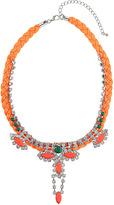 Topshop Teardrop Plait Collar Necklace
