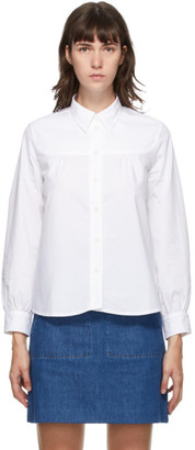 A.P.C. White Pascale Shirt