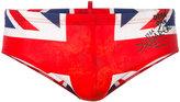 DSQUARED2 Union Jack swimming trunks - men - Polyamide/Spandex/Elastane - 44