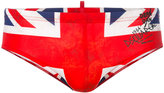 DSQUARED2 Union Jack swimming trunks - men - Polyamide/Spandex/Elastane - 46