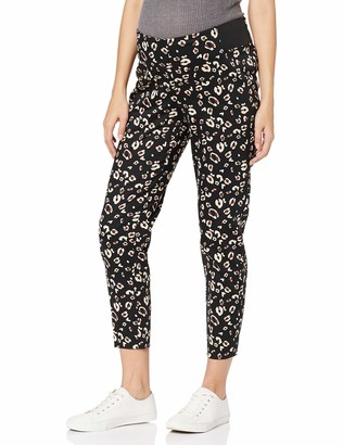 Dorothy Perkins Maternity Women's UNDERBUMP Leopard AG Maternity Trousers