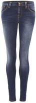 Nudie Jeans Women's Skinny Lin Denim Jeans Compact Cloud