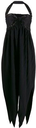Romeo Gigli Pre Owned 1990's pointed details dress