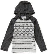 First Wave Little Boys 2T-7 Tribal-Print Hooded Shirt