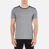 BOSS ORANGE Men's Trike Shoulder Detail TShirt - Grey
