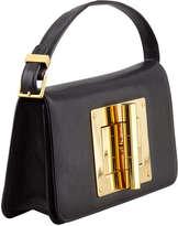 Tom Ford Natalia Black Calfskin East-West Shoulder Bag