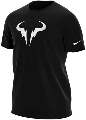 NikeCourt Mens Dri-FIT Rafa Tennis Tee Black L