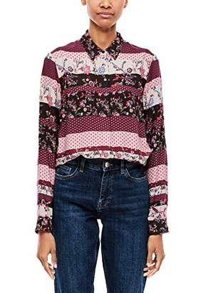 S'Oliver Women's .911.11.2670 Blouse,6 (Size: 38)