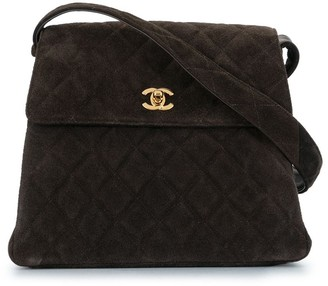 Chanel Pre Owned 1998 Diamond Quilted Shoulder Bag