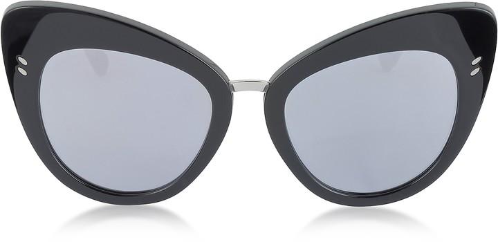 Stella McCartney SC0037S Acetate Cat Eye Women's Sunglasses