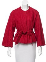 Dries Van Noten Textured Wool Jacket