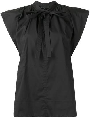 Lee Mathews Maleo puff-sleeve top