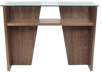 Temahome Oliva Console Table Color: Walnut
