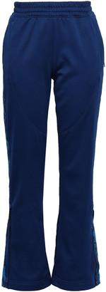 adidas by Stella McCartney Snake Print-paneled Stretch Jersey Track Pants
