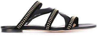 Alexander McQueen Studed Flat Sandals