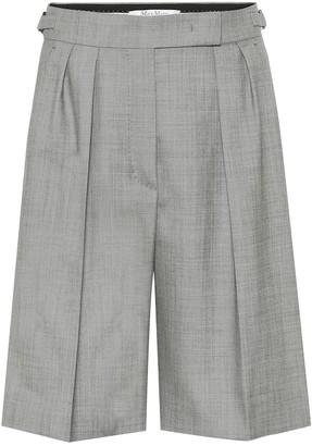 Max Mara Ondina wool Bermuda shorts