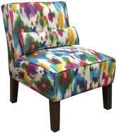 Aurora Multicolored Armless Chair