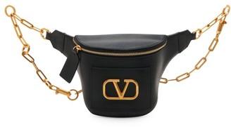 Valentino VLogo Leather Belt Bag