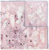 Valentino Garavani Pop Butterflies scarf