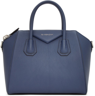 Givenchy Navy Small Antigona Bag