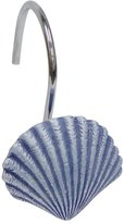 Elegant Home Fashions Shower Hook Set, Shell Design