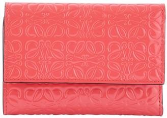 Loewe Small vertical logo wallet