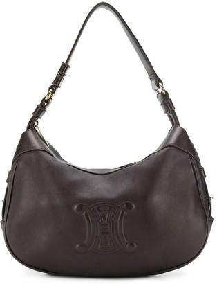 Celine Pre-Owned embossed logo shoulder bag