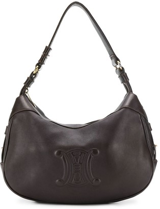 Céline Pre Owned Pre-Owned Embossed Logo Shoulder Bag