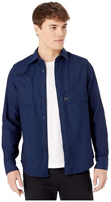 G Star G-Star Utility Ha Straight Shirt Long Sleeve (Rinsed) Men's Clothing