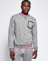 Bellfield Men's Crew Neck Grindle Sweat