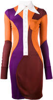 Givenchy colour block collared dress