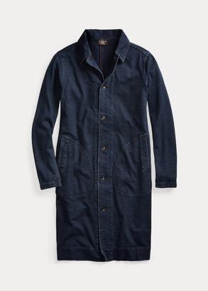Ralph Lauren Linen-Cotton Jersey Duster