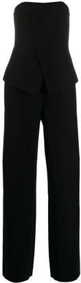 Emporio Armani Off-Shoulder Jumpsuit