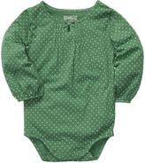 Osh Kosh OshKosh Girls' Polka Dot Jersey Bodysuit