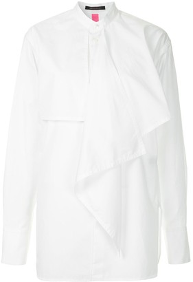 Y's Layered Frill Shirt
