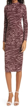 Ted Baker Long Sleeve Bodycon Dress