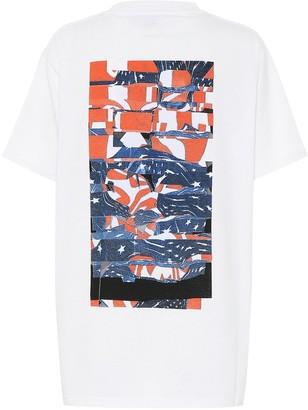 Alyx Collage cotton-blend T-shirt
