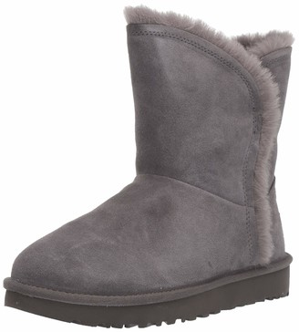 UGG Women's Classic Short Fluff HIGH-Low Fashion Boot