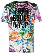 PRPS all-over flower print T-shirt