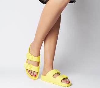 Birkenstock Arizona Two Strap Sandals Vibrant Yellow Eva