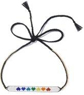 Venessa Arizaga Rainbow Hearts Necklace