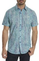 Robert Graham Rio Abstract-Print Short-Sleeve Sport Shirt