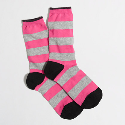 J.Crew Factory Factory wide-stripe trouser socks