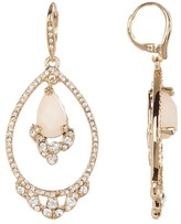 Jenny Packham Orbital Crystal & Glass Drop Earrings