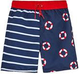 Arizona Boys Stripe Trunks-Toddler