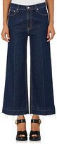 Derek Lam 10 Crosby Women's Dylan High-Rise Wide-Leg Jeans-NAVY