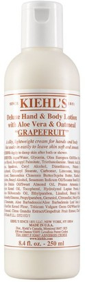 Kiehl's Grapefruit Deluxe Hand & Body Lotion with Aloe Vera and Oatmeal (250ml)